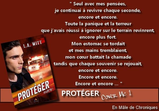 Cover me - Tome 1 : Protéger de L.A. Witt Proteg11