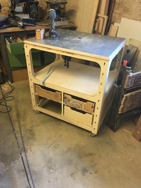 meuble defonceuse sous table pour festool OF1010 Img_3022