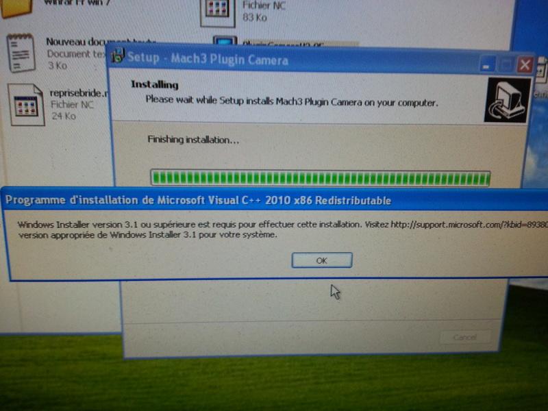 Problème plugin camera kd-dietz mais tout autre problème en fait : PC qui a un problème et surtout ENB des drivers DM542 qui posait problème!!!??? 20160742