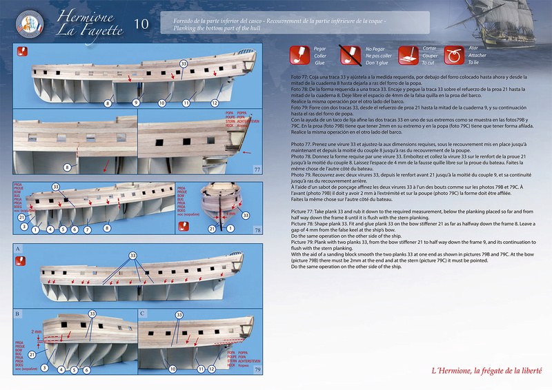 New Hermione Lafayette Artesania Latina 02-610