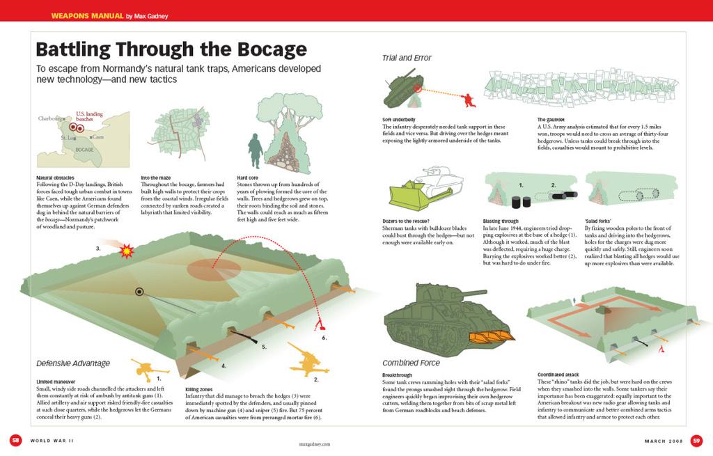 Bataille dans le Bocage Normand - techniques et tactiques Mar-ap10
