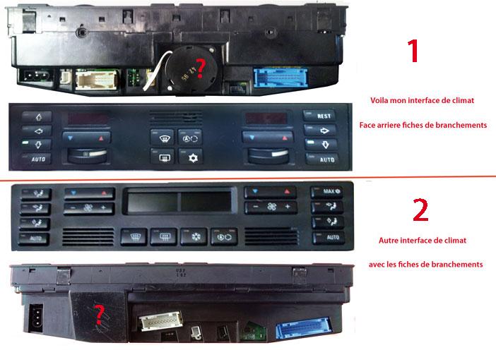 Afficheurs de températures du tableau de bord Comman10