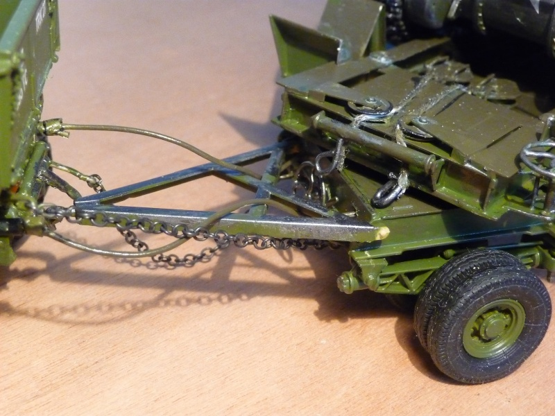 U.S. M19 TANK TRANSPORTER with hard top cab + remorque porte char 1/35  P1060814