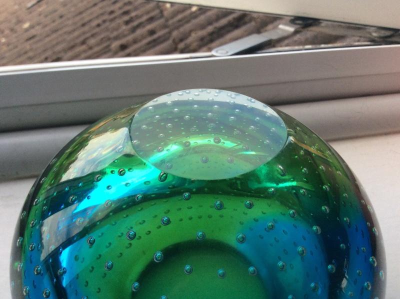 Murano? Galliano Ferro? Controlled bubble vase Image24