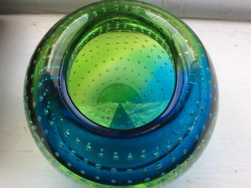Murano? Galliano Ferro? Controlled bubble vase Image26