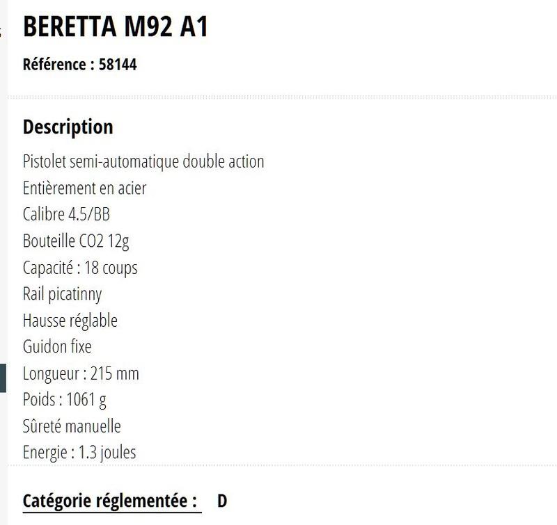 Le Beretta 92A1 BB arrive en France ! - Page 3 Image_41