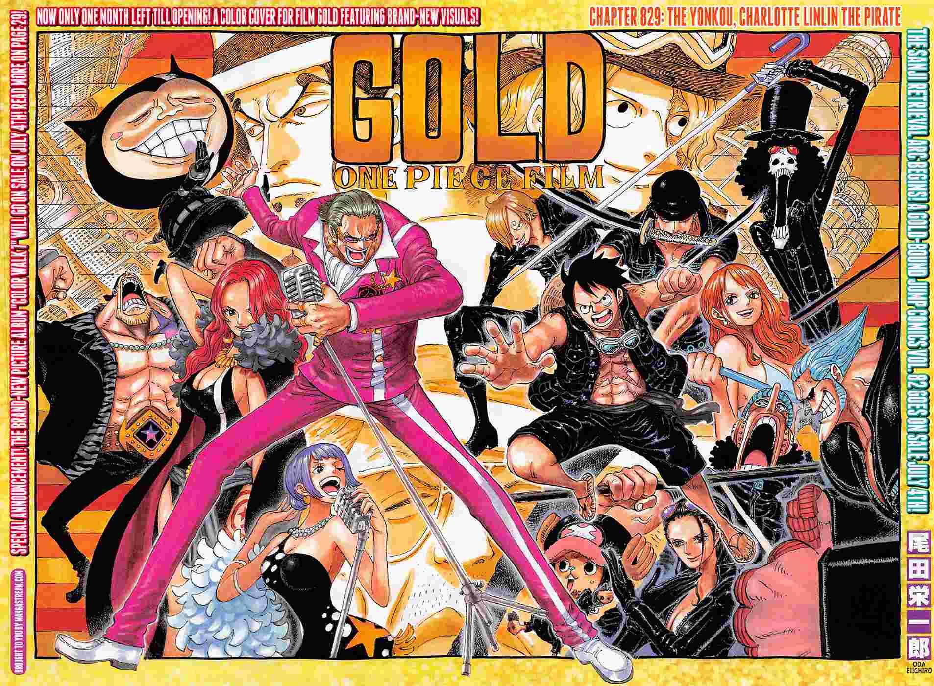 One Piece Chapter 829: Hải tặc, Tứ Hoàng Charlotte Linlin 002_0010