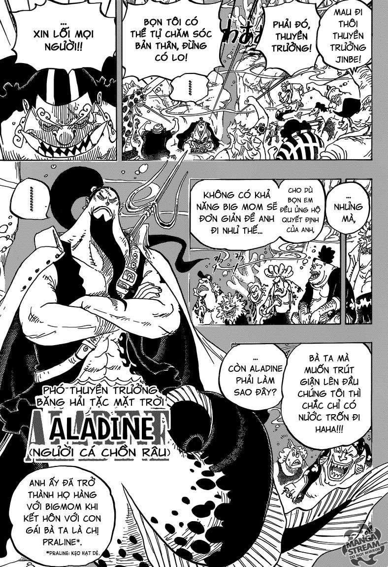 One Piece Chapter 830: Người mà ta có thể đặt cược. 00511