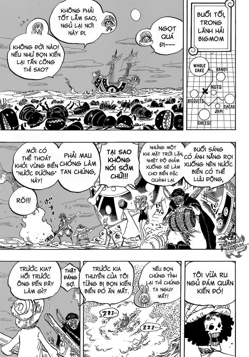 One Piece Chapter 830: Người mà ta có thể đặt cược. 01110