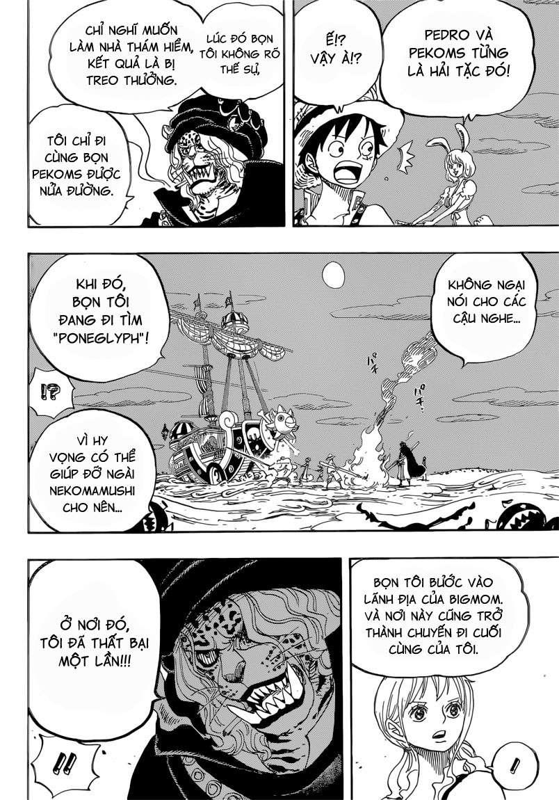 One Piece Chapter 830: Người mà ta có thể đặt cược. 01212