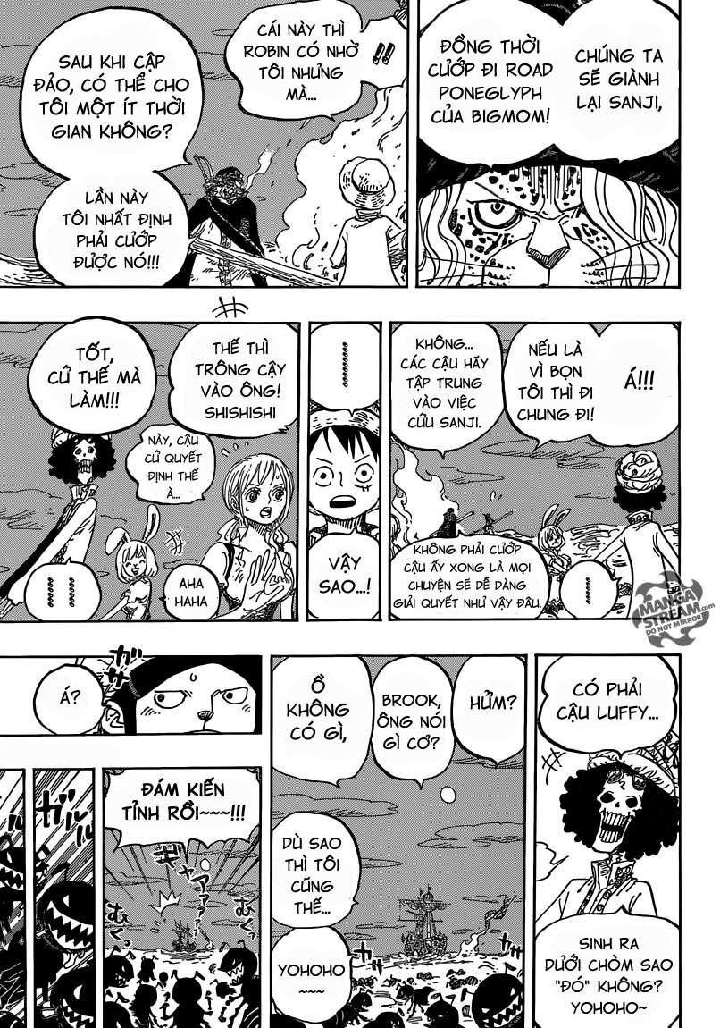 One Piece Chapter 830: Người mà ta có thể đặt cược. 01511
