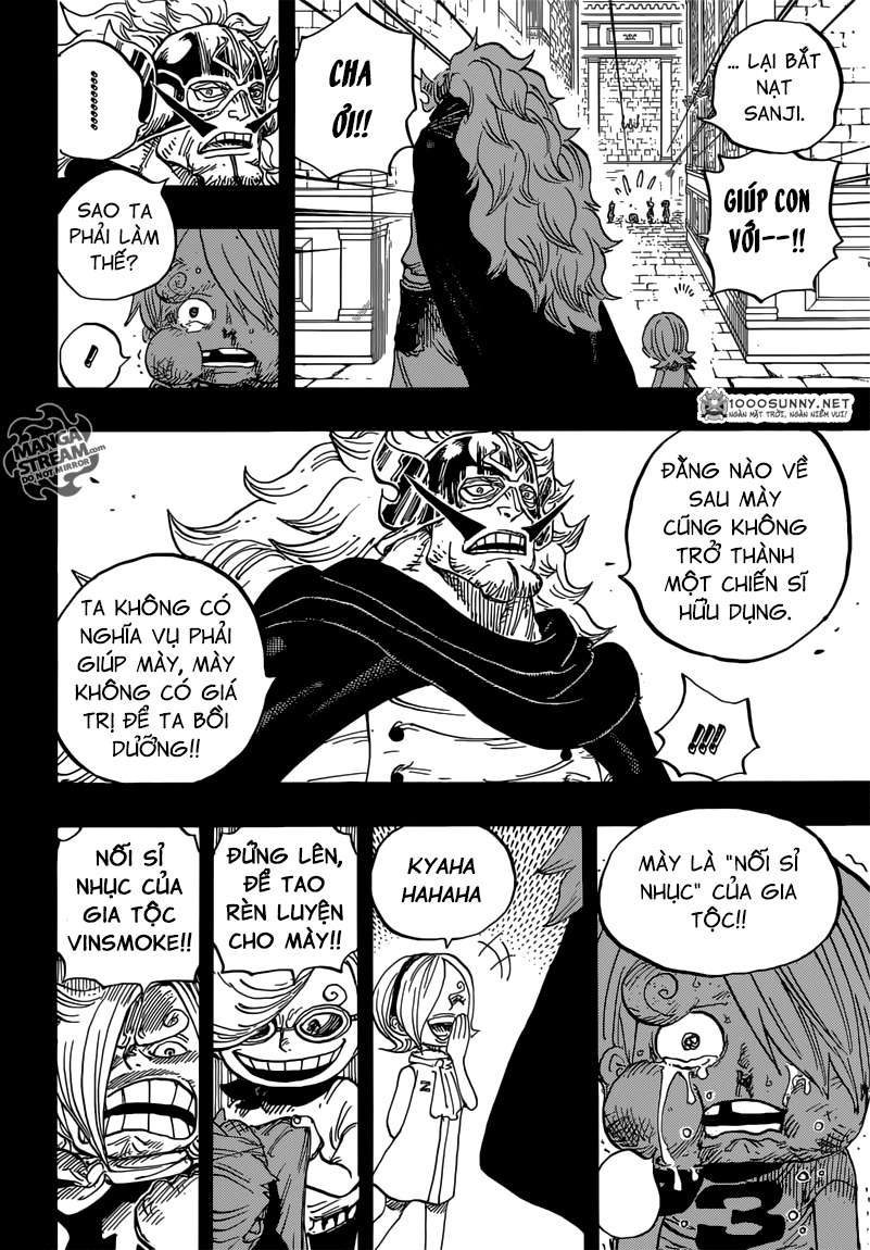 One Piece Chapter 833: Vinsmoke Judge 1211