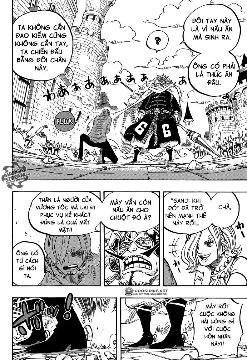 One Piece Chapter 833: Vinsmoke Judge 1411