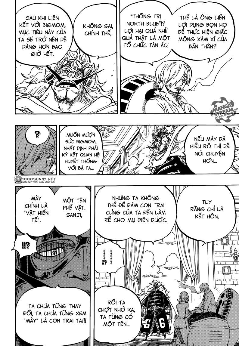 One Piece Chapter 833: Vinsmoke Judge 2210