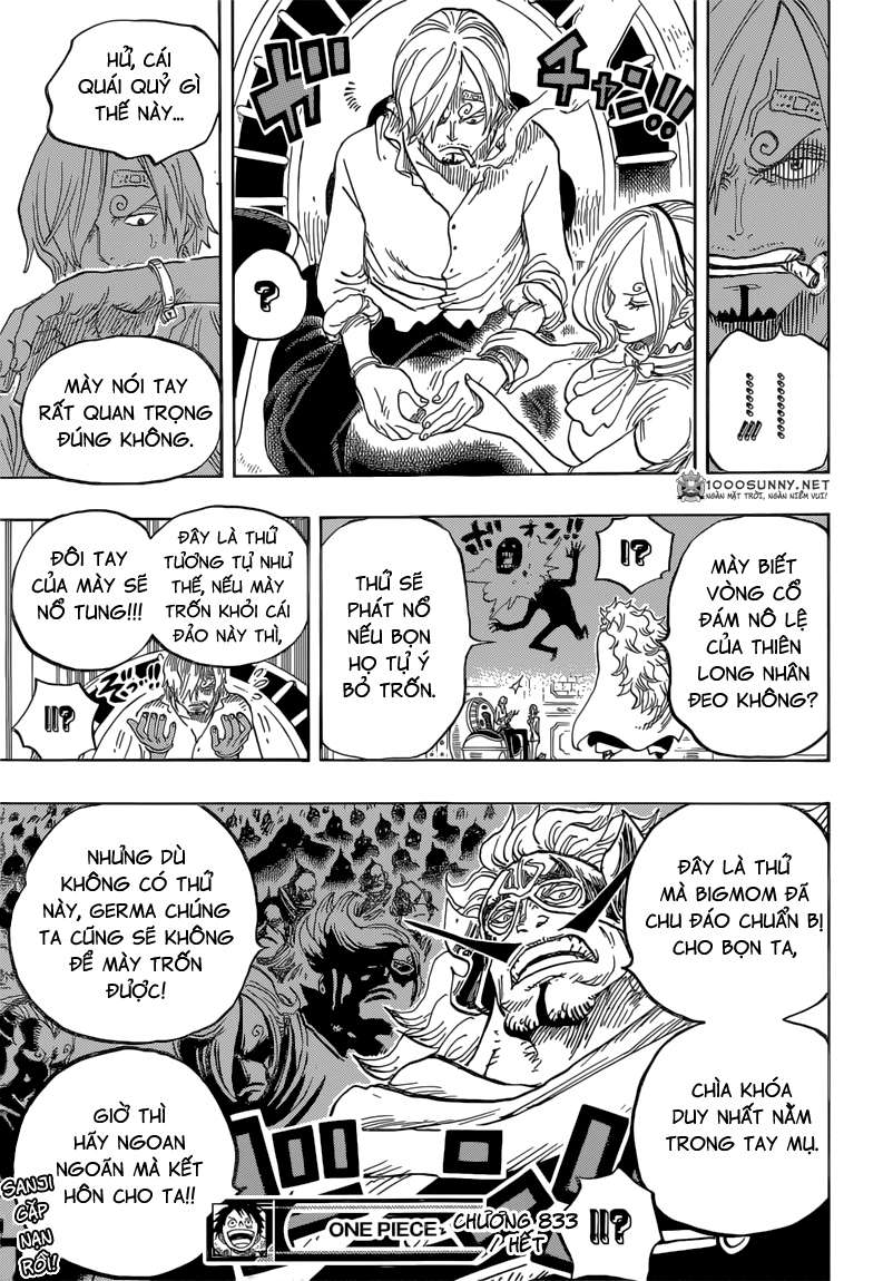 One Piece Chapter 833: Vinsmoke Judge 2310