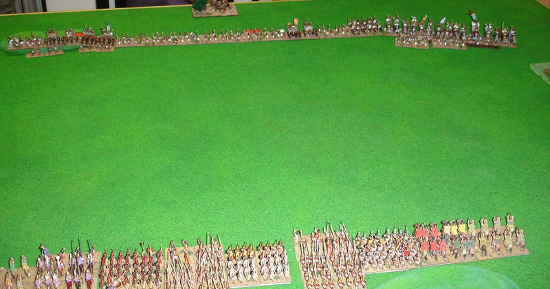 15mm Macedonians vs Indians with U equal to 17mm Dsc04110