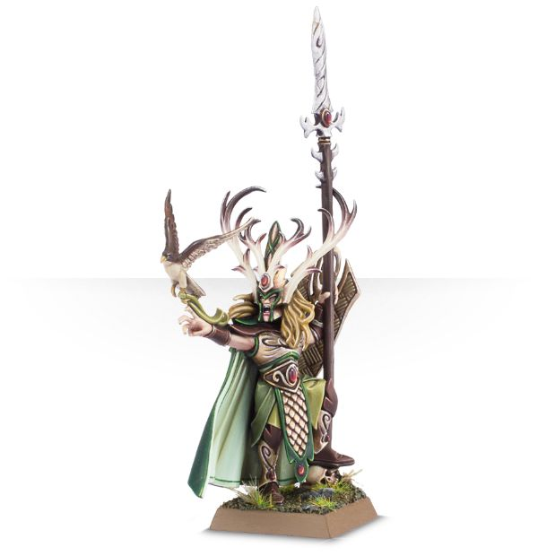 Equivalence figurines KoW Warhammer Hauts Elfes + sylvains = Elfes 99070210