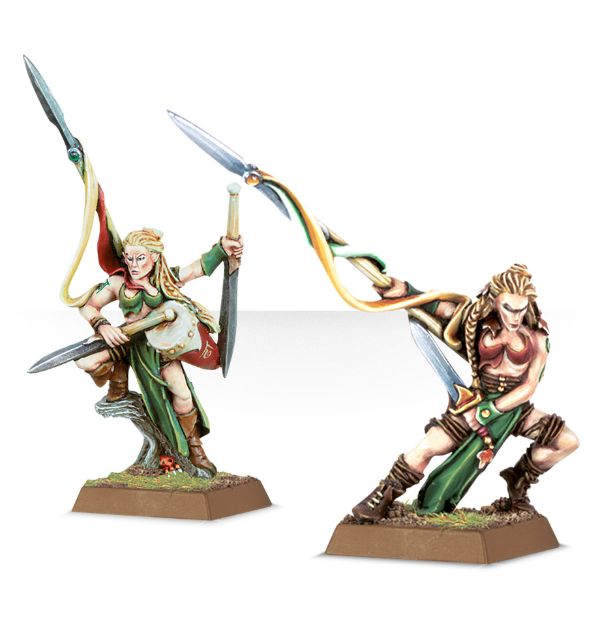 Equivalence figurines KoW Warhammer Hauts Elfes + sylvains = Elfes 99110210