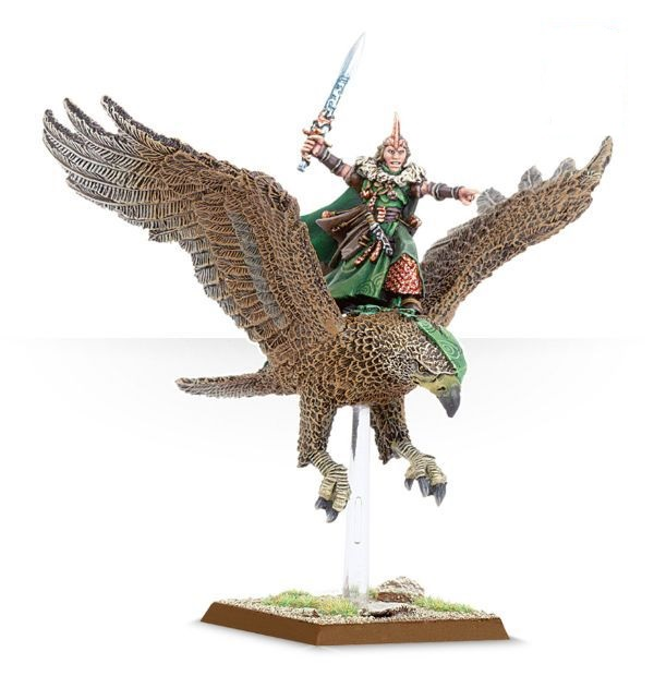 Equivalence figurines KoW Warhammer Hauts Elfes + sylvains = Elfes 99110211