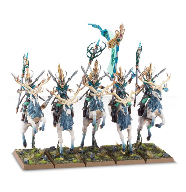 Equivalence figurines KoW Warhammer Hauts Elfes + sylvains = Elfes 99120210