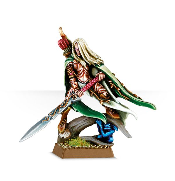 Equivalence figurines KoW Warhammer Hauts Elfes + sylvains = Elfes 99800210