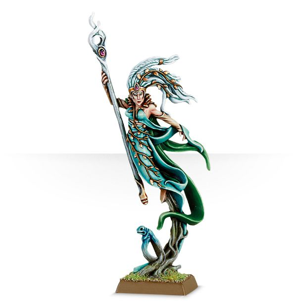 Equivalence figurines KoW Warhammer Hauts Elfes + sylvains = Elfes 99800211