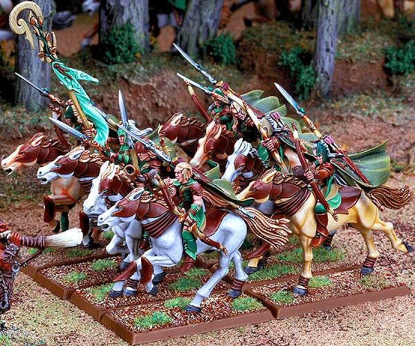 Equivalence figurines KoW Warhammer Hauts Elfes + sylvains = Elfes Glade_10