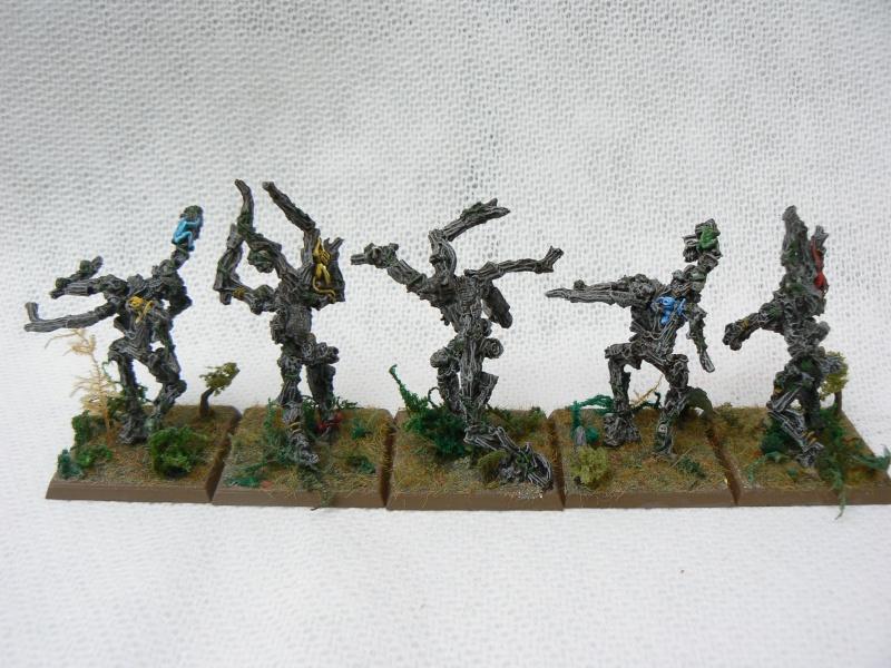 Equivalence figurines KoW Warhammer Hauts Elfes + sylvains = Elfes Lamure10