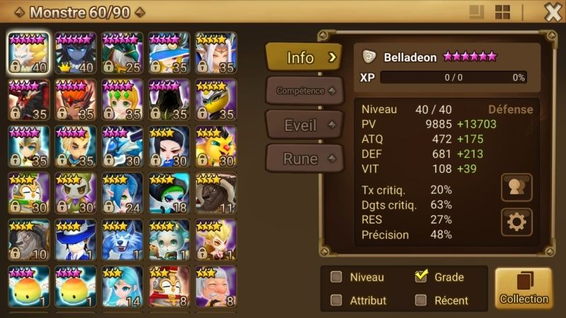 Reprise de summoners (lvl 40), besoin d'aides Screen10