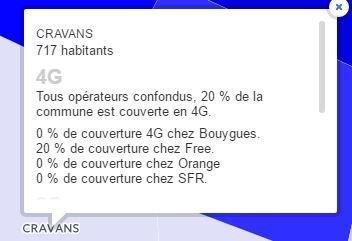 Carte de France du réseau mobile : qui a la meilleure couverture ? Crav11