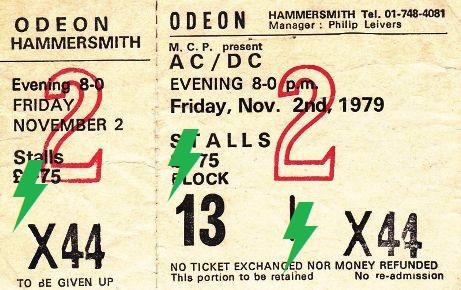 1979 / 11 / 02 - UK, London, Hammersmith Odeon 02_11_10