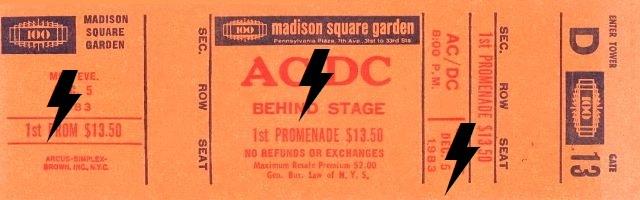 1983 / 12 / 05 - USA, New York, Madison Square Garden 05_12_11