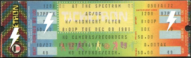 1981 / 12 / 08 - USA, Philadelphia, Spectrum 08_12_10