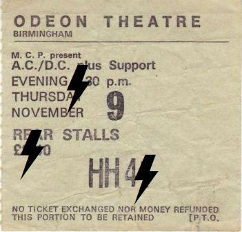 1978 / 11 / 09 - UK, Birmingham, Odeon theatre 09_11_10