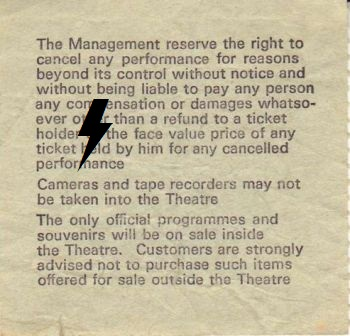 1978 / 11 / 09 - UK, Birmingham, Odeon theatre 09_11_11