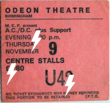 1978 / 11 / 09 - UK, Birmingham, Odeon theatre 09_11_12