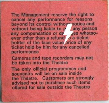 1978 / 11 / 09 - UK, Birmingham, Odeon theatre 09_11_13