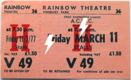1977 / 03 / 11 - UK, London, Rainbow Theatre 11_03_10