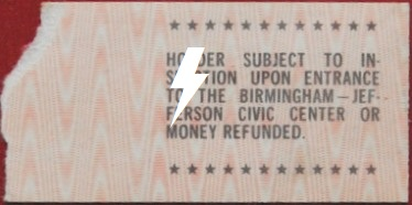 1978 / 06 / 26 - USA, Birmingham, Birmingham Jefferson civic center 11w06111