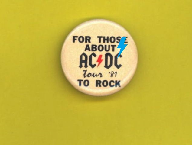 """1981 - For those about to rock """"Tour"""" 126"""