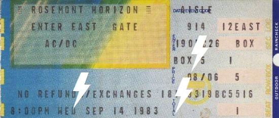 1983 / 09 / 14 - USA, Chicago, Rosemont Horizon 14_09_10
