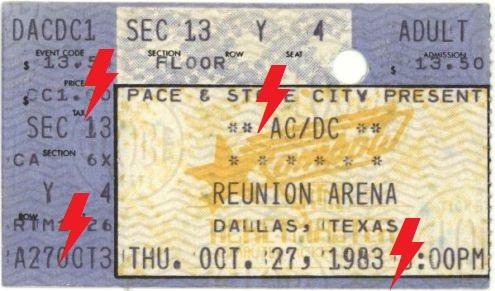 1983 / 10 / 27 - USA, Dallas, Reunion Arena 27_10_10