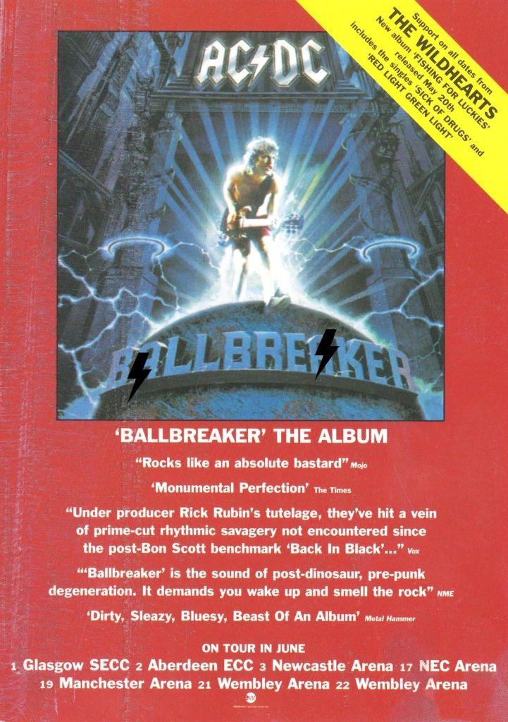 1995 - Ballbreaker 811