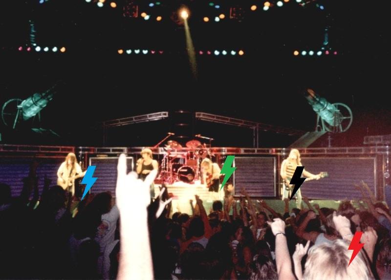 1986 / 08 / 13 - USA, Laguna Hills, Irvine meadows amphitheatre Acdc1910
