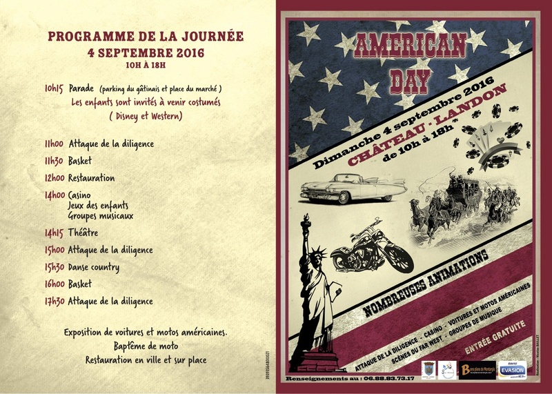 american day chateau landon 04 sept 2016 Americ10