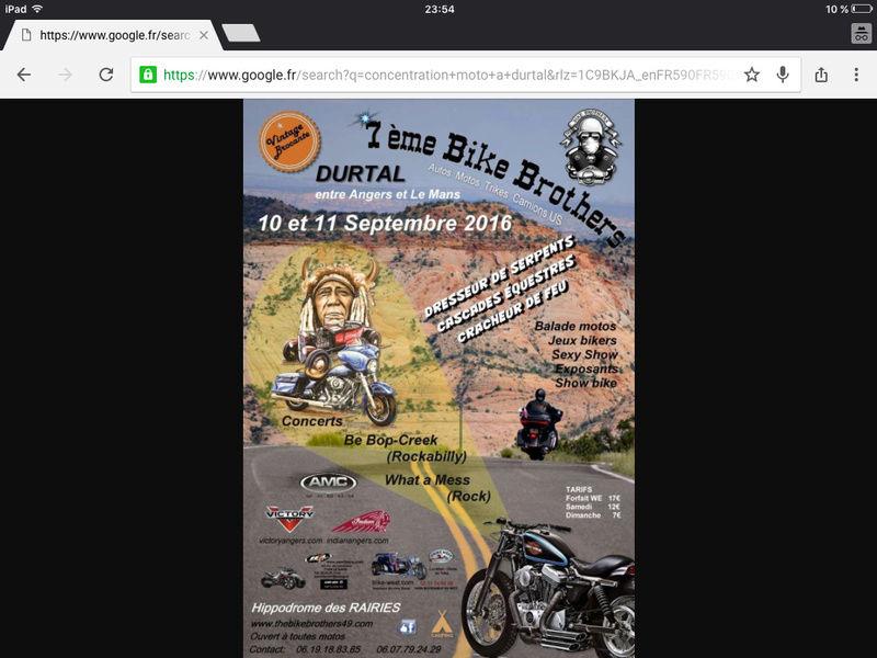 7e Bike Brothers à Durtal 10 et 11 septembre Image12