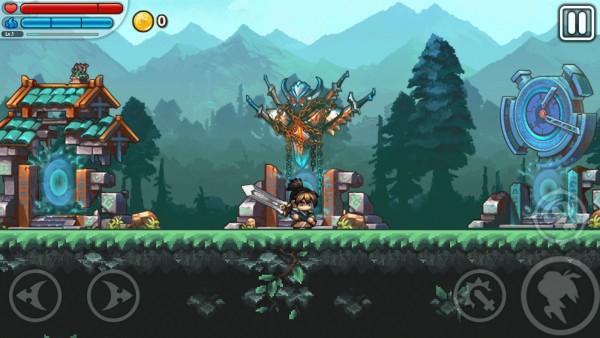 The East New World magnifique jeux de plateforme. 112