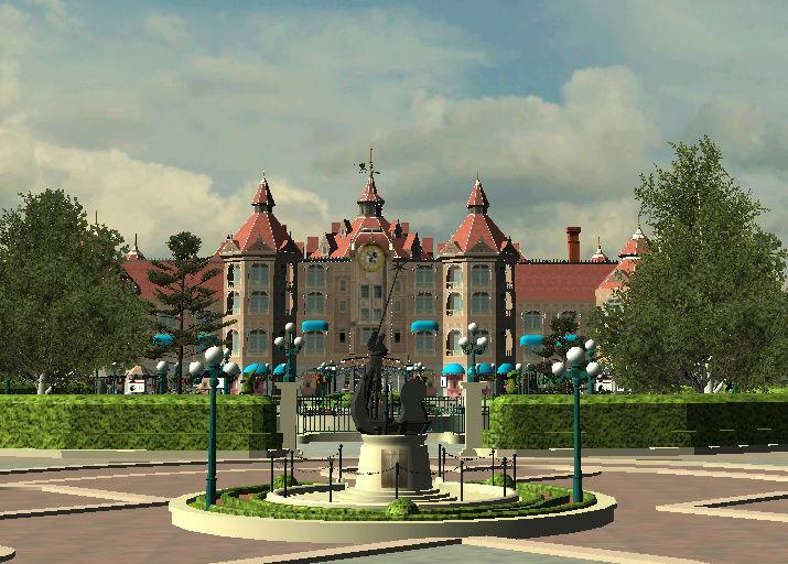 Recreation de Disneyland Paris (creation+importation) - Page 4 Captur29