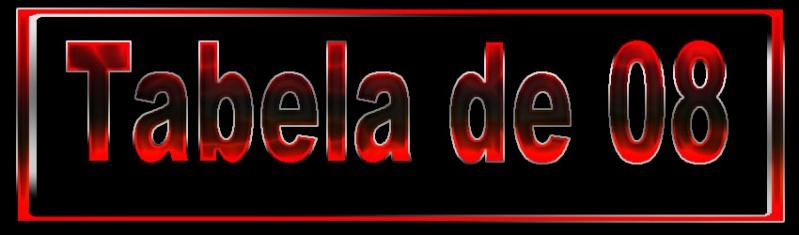 TABELA DE 08 2910