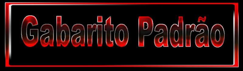 GABARITO PADRÃO 3010